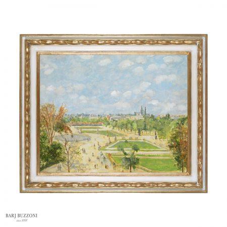 Parco Parigi veduta parigina