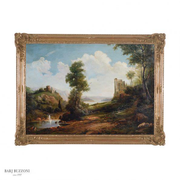 Classic nature environment art