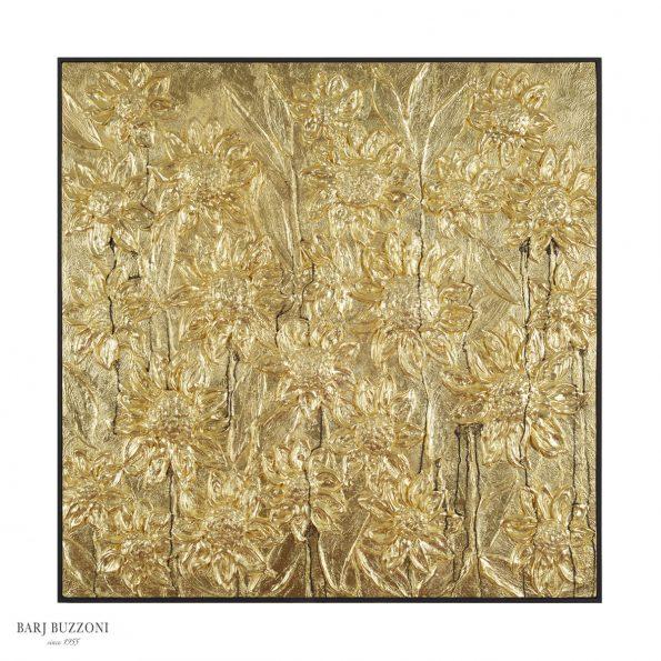 gold sunflowers Materico