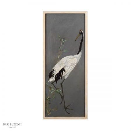 Heron animal posing