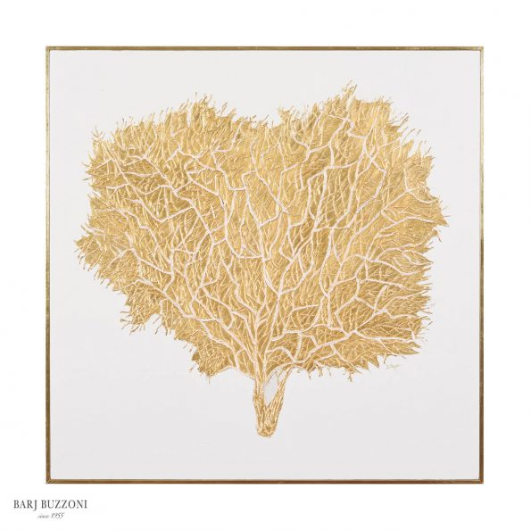 Golden tree materico gold