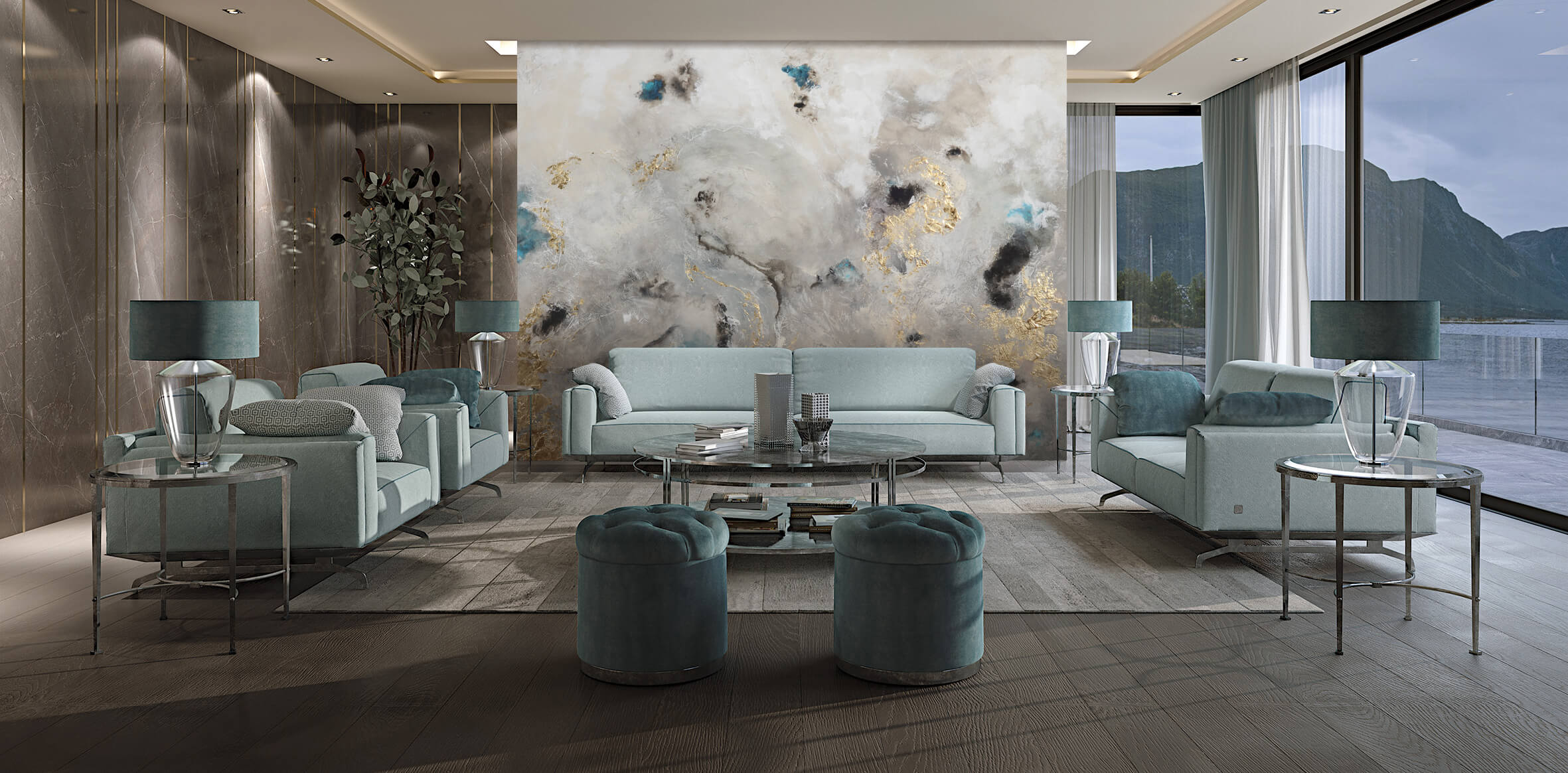 Contemporary Art for luxury interiors